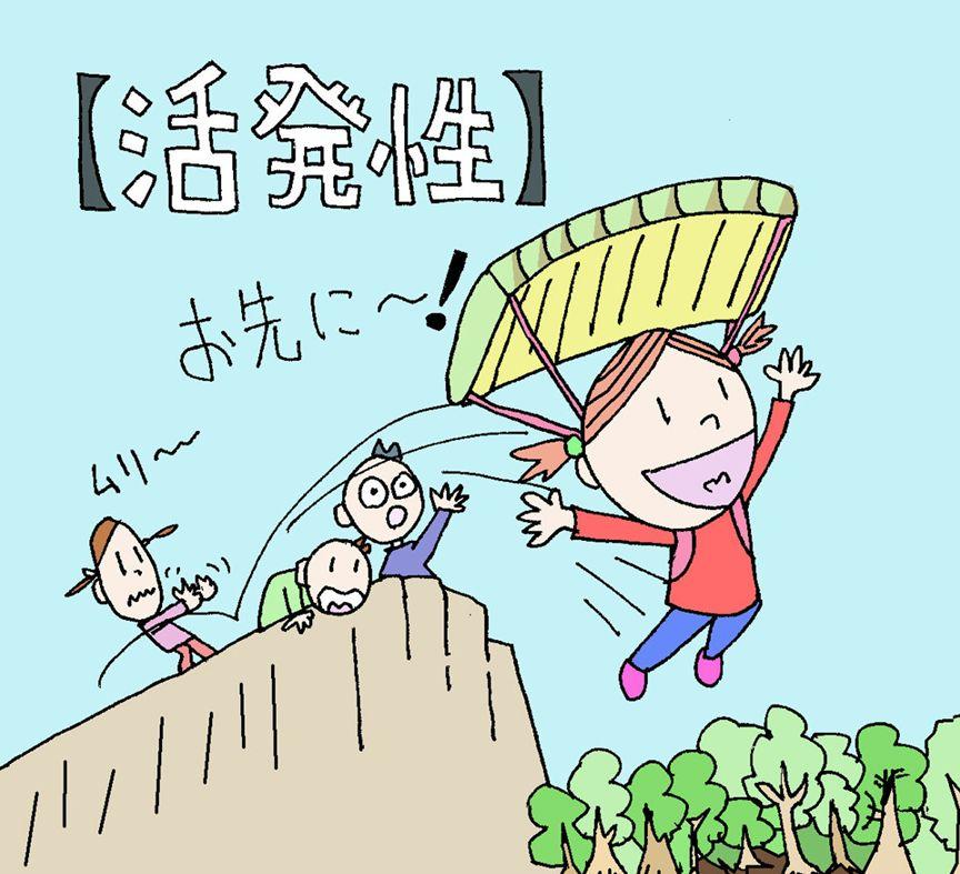 【活発性】の性格(キャラクター)・イラスト(ココナラ toriho)