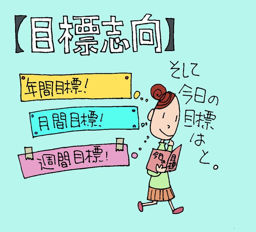 【目標志向】のキャラクターイラスト(ココナラ toriho)